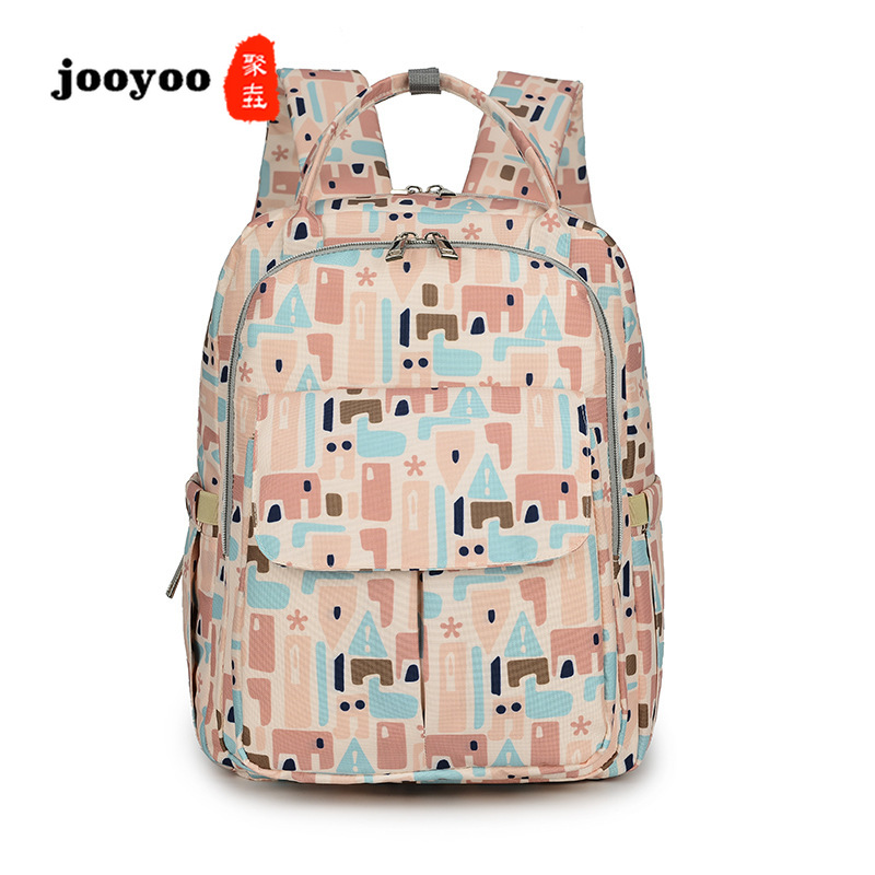 Multifunctional Waterproof Portable Shoulder Mummy Bag Maternal and Child Package Backpack Diapers Bag jooyooMultifunctional Waterproof Portable Shoulder Mummy Bag Maternal and Child Package Backpack Diapers Bag jooyoo