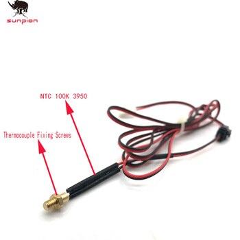 3D printer head thermistor M4/ M3 Screw thermocouple 100K NTC100 3950 3D printer accessories screw temperature sensor flora pp2512uv printer raster sensor