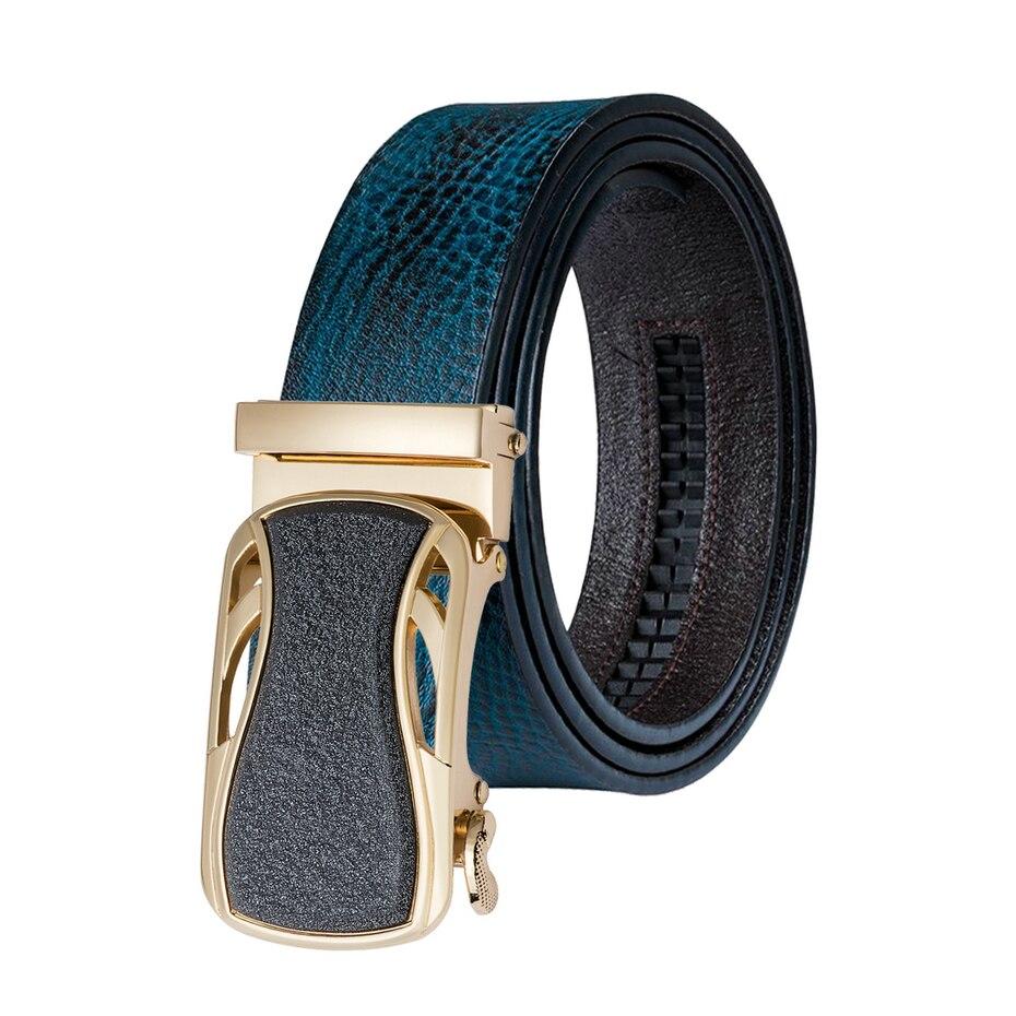 DiBanGu Man Belt Automatic Men Fashion Designer Automatic Buckles Belts Genuine Leather Business Style Dropshipping Wholesale