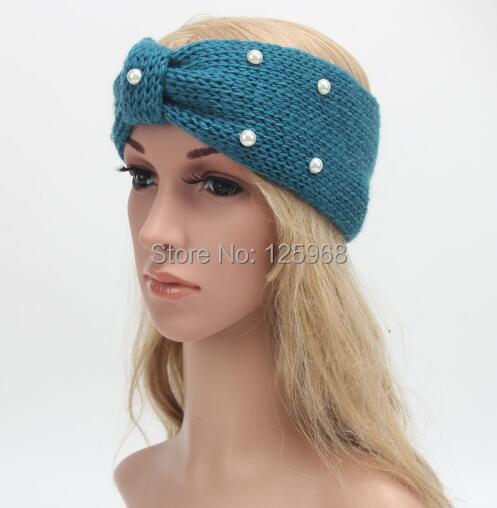 10 PCS Mulheres Lady Crochet Pérolas Bowknot