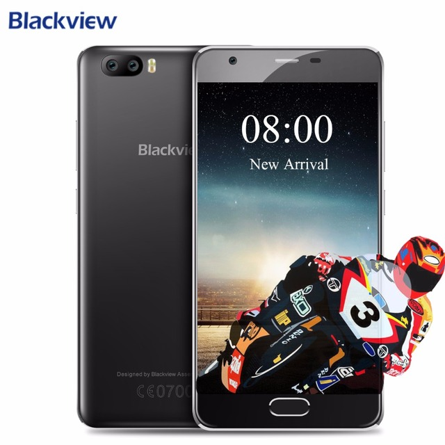 Newest Blackview A9 PRO Android 7.0 Dual Rear Camera Mobile Phone MTK6737 Quad Core 2GB RAM 16GB ROM Fingerprint 720P Phone