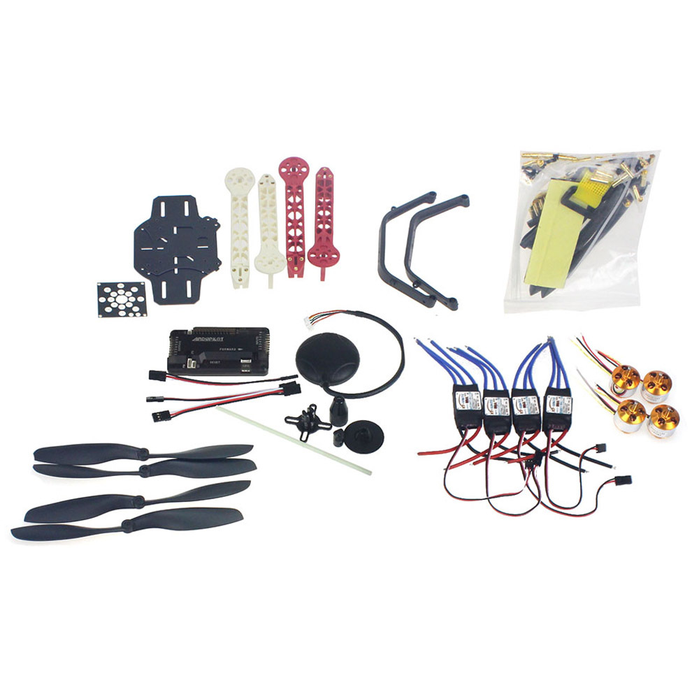 RC Drone Quadrocopter Aircraft Kit F330 MultiCopter Frame 6M GPS APM2.8 Flight Control No Transmitter No BatteryF02471-E rc drone quadcopter 4 axis aircraft kit f330 multicopter frame 6m gps apm2 8 flight control no transmitter no battery f02471 e