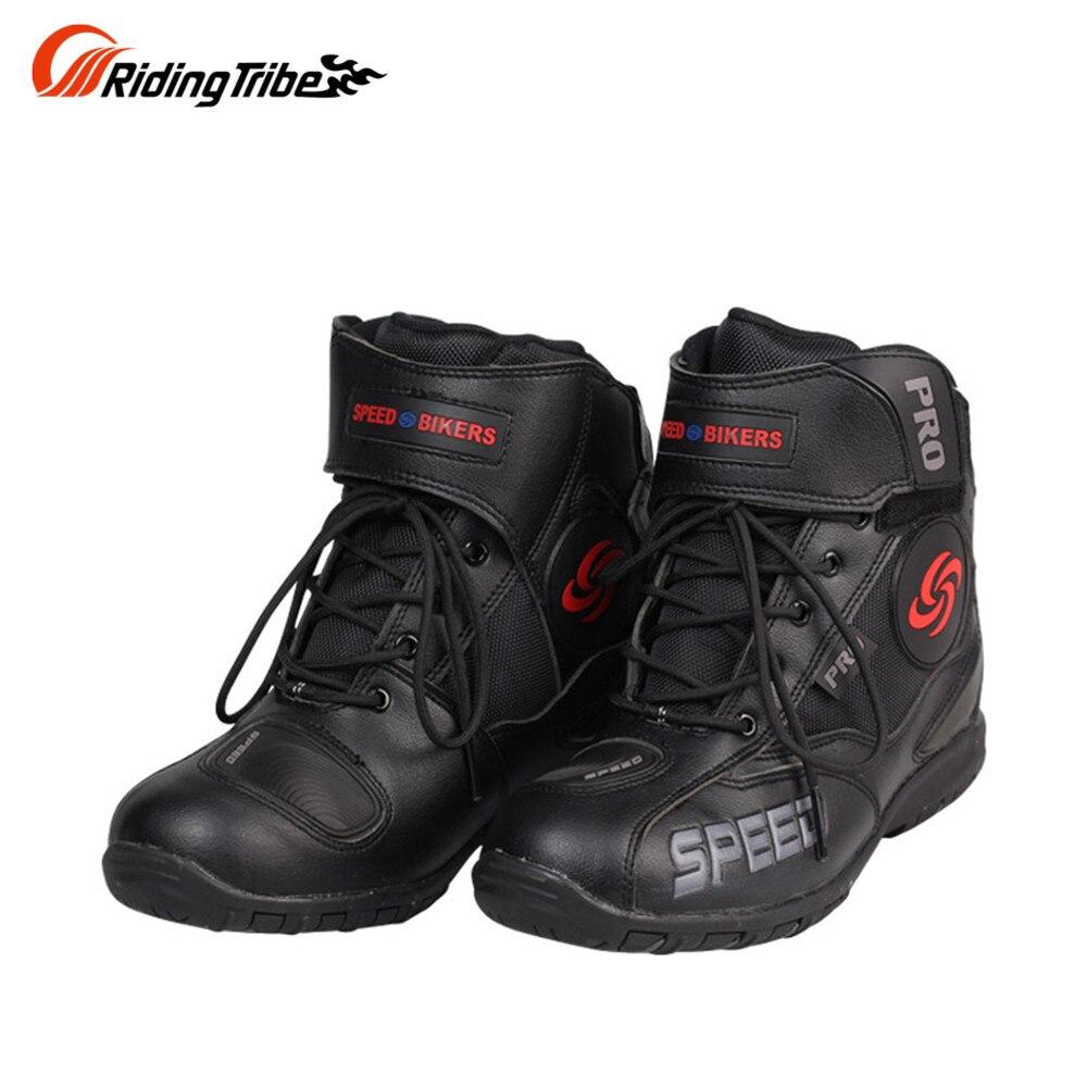 ФОТО Men Motorcycle Boots Motocross Racing Speed Motorbike shoes Moto Boot Motorcycles Boots Men dirt bike Cycling Sports Botas