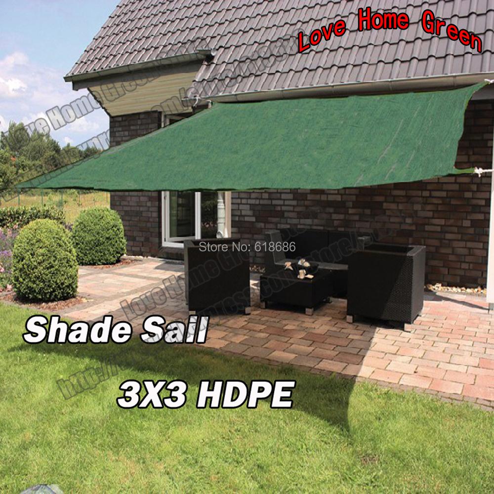 hdpe sun sail shade combinacin shade net jardn toldo dosel uv square m x