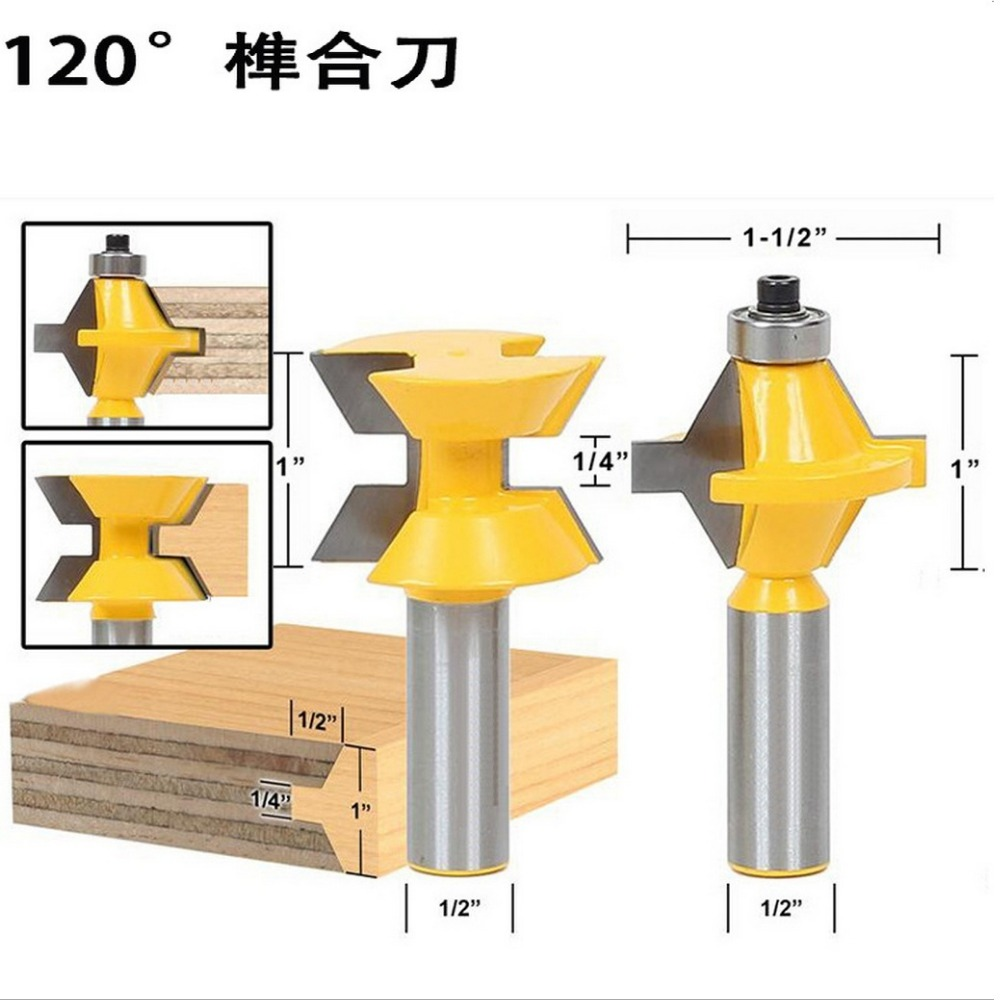 2pcs/set Woodworking engraving machine tool wood cutter ...