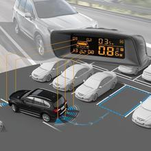 Видимый полный цифровой дистанционный дисплей реверсивный радар ЖК-датчик парковки автомобиля Комплект A10 подходит для всех автомобилей