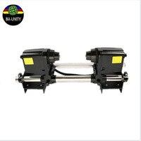Bom! mutoh ocupam sistema duplo poder RJ900 RJ8000 RJ8100 VJ1604 VJ1618 VJ1628 VJ1638 sistema de carretel de papel da impressora Ocupam Dispositivo