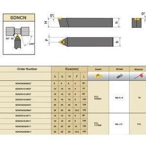 Image 3 - 4pcs 10mm Shank מחרטה בר משעמם הפיכת כלי מחזיק S10k SDUCR07/SDJCR1010H07/SDJCL1010H07/SDNCN1010H07