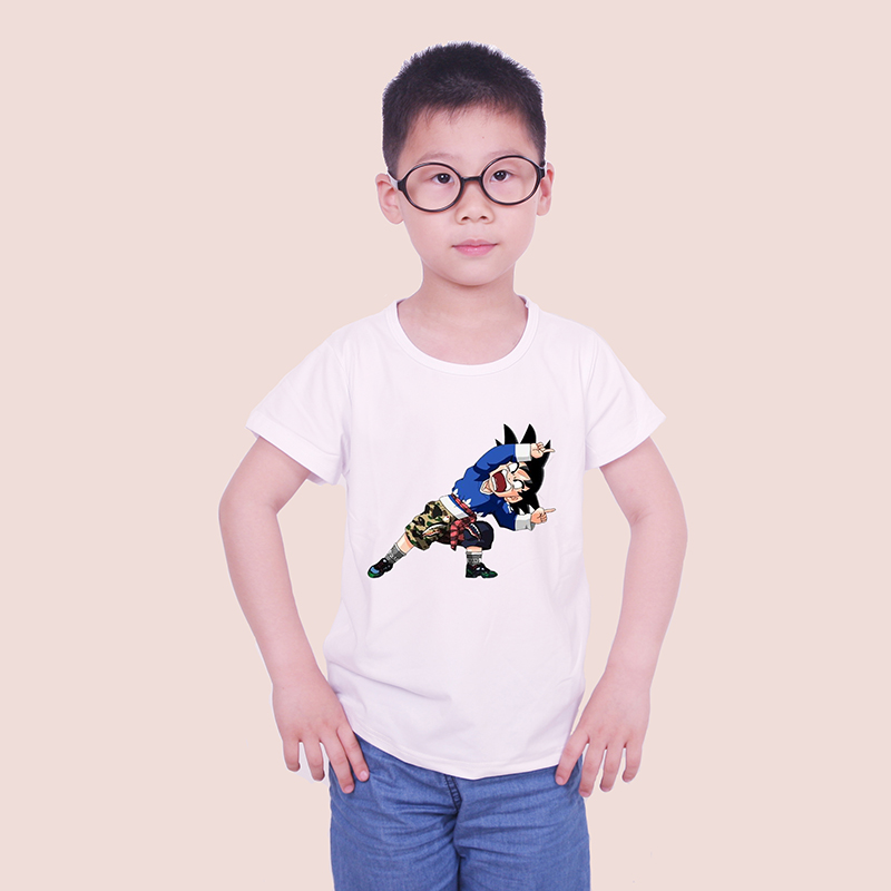 hot Fortnite bebe dragon ball Monkey King bigger Devils kids tops tee children tshirt short sleeve baby girl and boy clothes