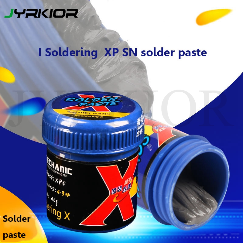 Mechanic I Soldering XP For IPhone X/XS/XR/XS MAX Royal Solder Paste 148 Degree Solder Paste Lead-Free Low Temperature Tin Paste