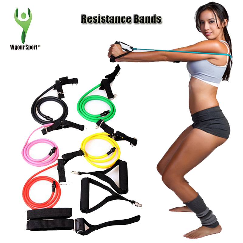 Stretch Band Workout Clip Art