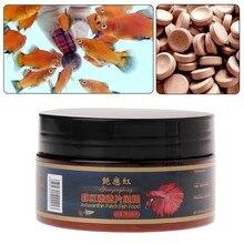 1 garrafa de comida de peixe tablet astacina camarão aquário alimentando tanque de peixes tropical catfish pill peixe forragem 90g/155g