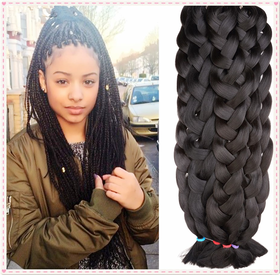 Aliexpress buy synthetic yaki style jumbo braid hair aliexpress buy synthetic yaki style jumbo braid hair synthetic hair braiding 3x jumbo braiding hair extension synthetic twist crochet braid from pmusecretfo Images