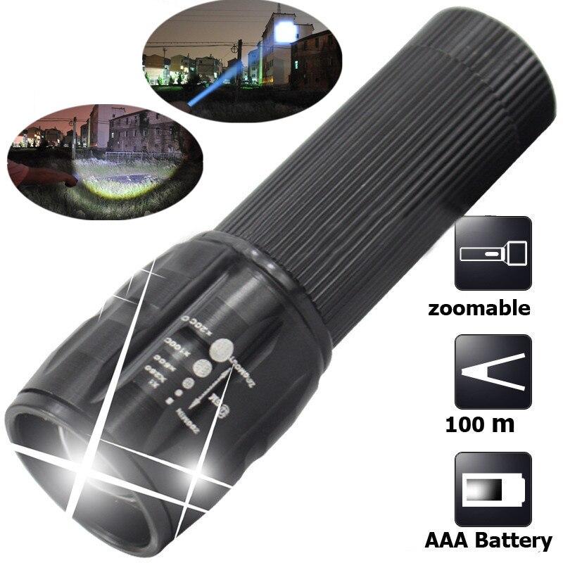 WasaFire The Best Quality Mini LED Flashlight Strong Lumens Lanterna Torch Light Zoomable Lantern Penlight Bike Light Tactical