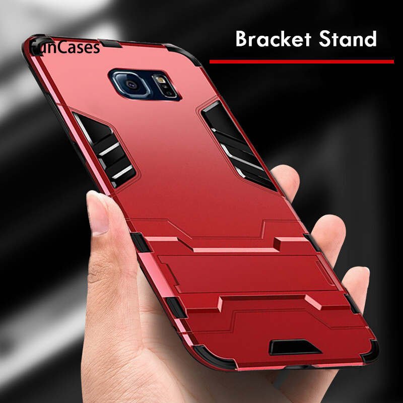 Iron Armor Phone Case For Samsung Galaxy S10 Plus Lite S8 S9 Plus Cases For Galaxy A7 A6 Plus 2018 J2 J7 J5 Prime A5 A3 A7 2017 image