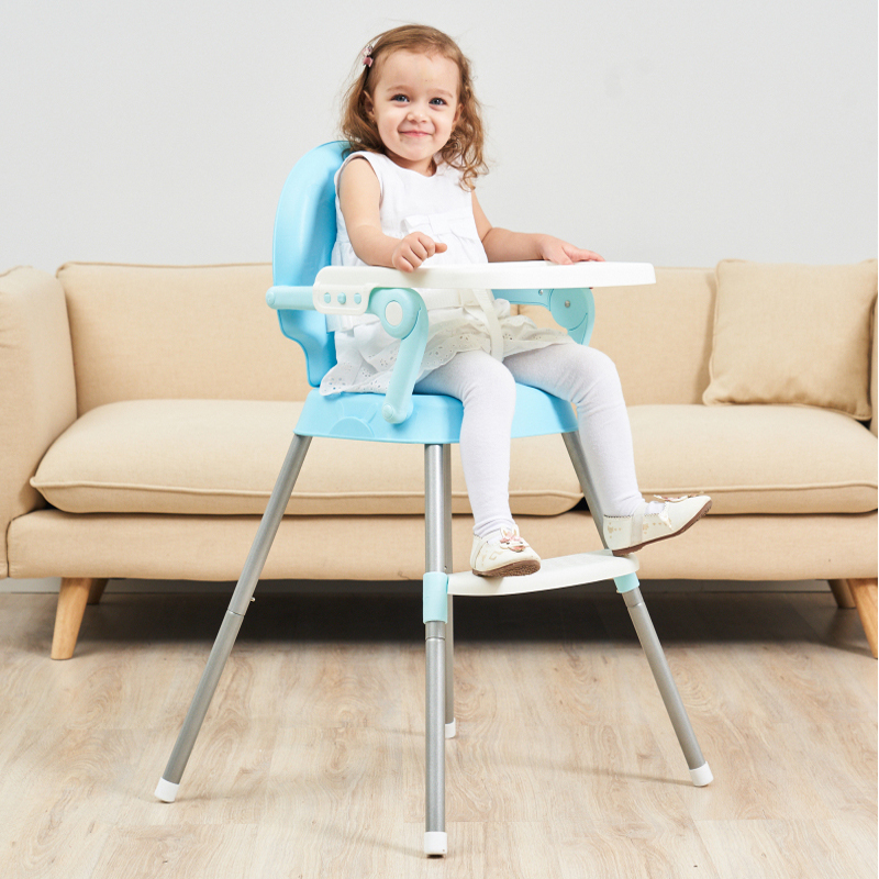 Eco-friendly Infant Baby Dinning High Chair Baby Kids Children Feeding Highchair