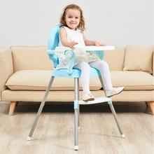Купить с кэшбэком Eco-friendly Infant Baby Dinning High Chair Baby Kids Children Feeding Highchair
