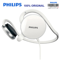 Philips SHM6110U Post hanging Headset with Microphone Support Music & Movie & Game for Computer Mobile Phone Official Test