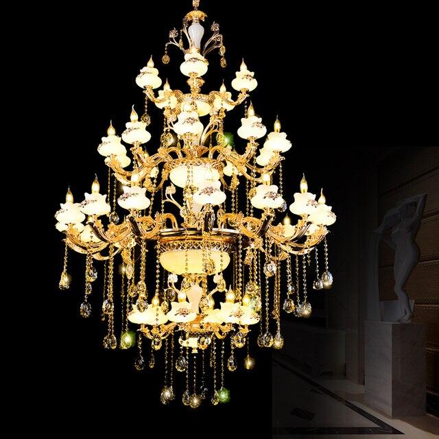 Luxus Kristall Kronleuchter Für Wohnzimmer Glas Kristall Kronleuchter  Leuchten Dekorative Kronleuchter Für Home Lampe