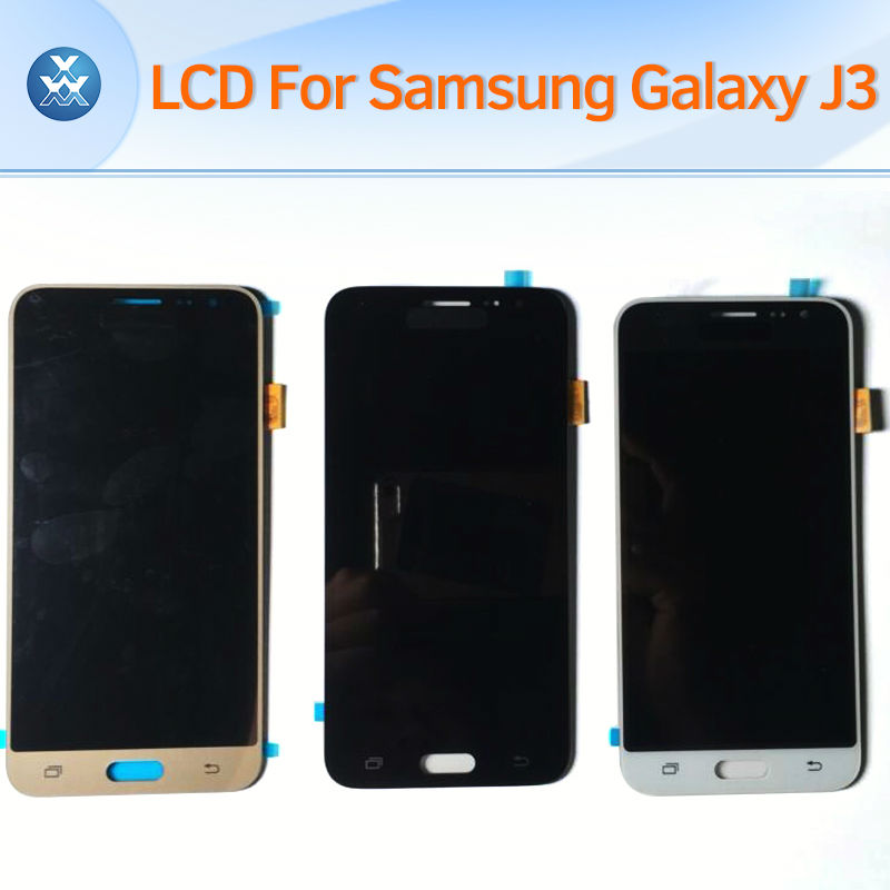 Samsung Galaxy J3 j320 LCD Display J320A J320F J320M Touch screen with digitizer Assembly black White Gold Color