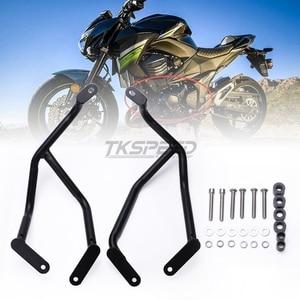 Image 5 - Für Kawasaki Z800 Motorrad Vorne Motor Schutz Crash Bars Rahmen Protector Bumper 2013 2014 2015 2016