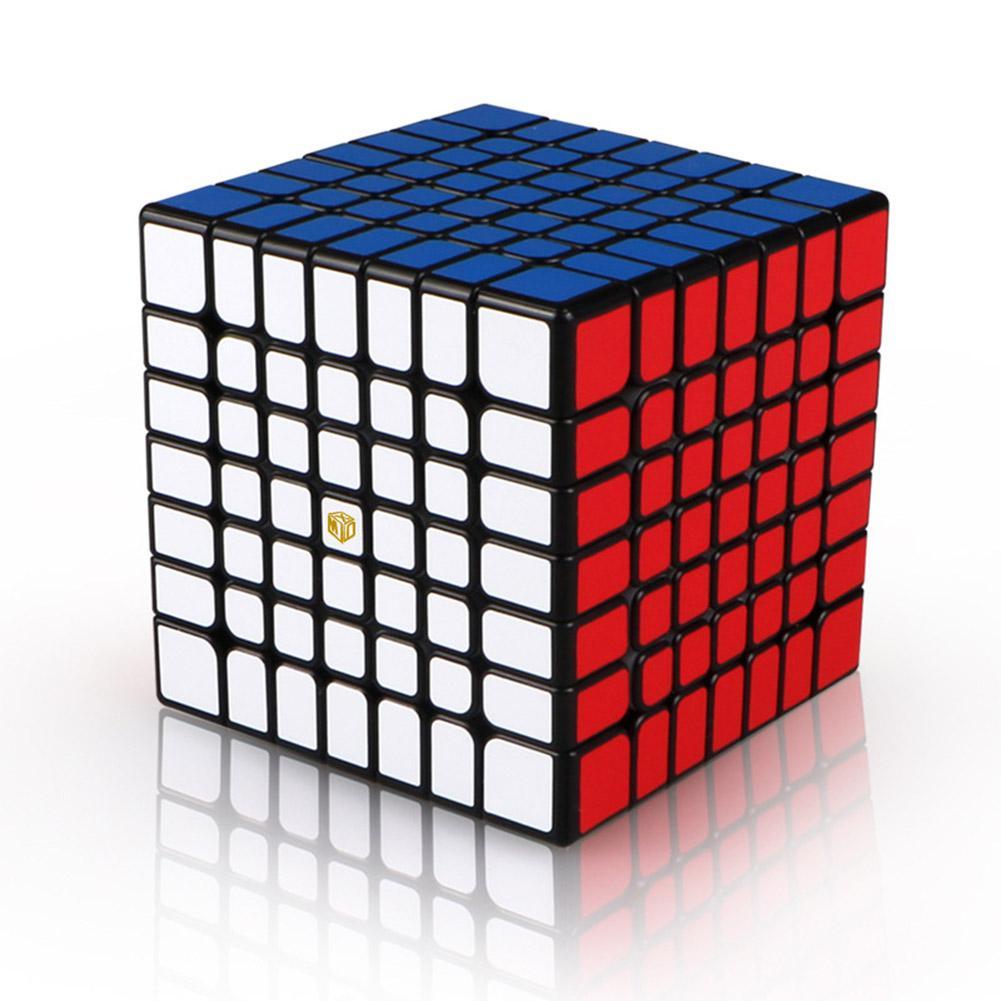 LeadingStar 7x7 Magic Cube Puzzles Jouet pour En Développement Enfants Intelligence