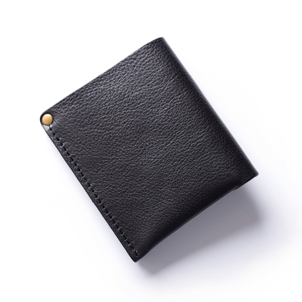 Gathersun Small Wallet Mens Bi-fold Full Korn Läder Kreditkort - Plånböcker - Foto 2