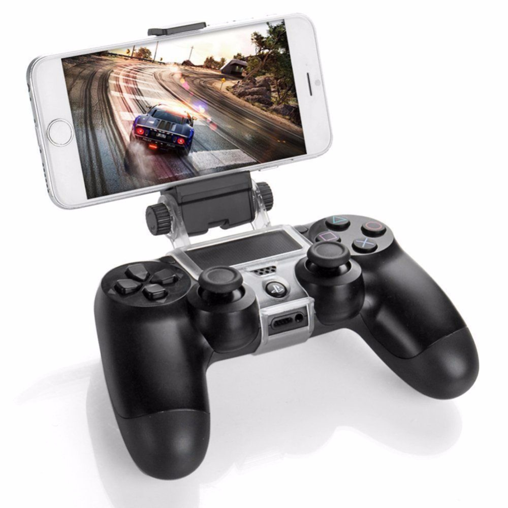 Game Controller Smart Phone Clip Clamp Mount Adjustable Bracket Handset Android Holder For Samsung LG Sony PS4 Controller