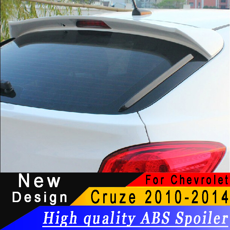 For <font><b>Chevrolet</b></font> <font><b>Cruze</b></font> <font><b>2009</b></font> to <font><b>2014</b></font> Hatchback spoiler High quality ABS primer or any color with spoiler for <font><b>Cruze</b></font> image