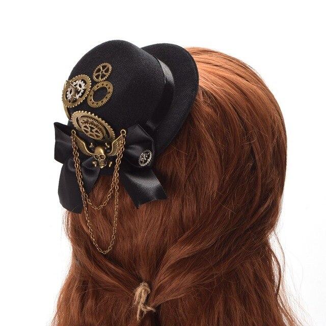 Шляпка в стиле стимпанк лолита в ассортименте 3