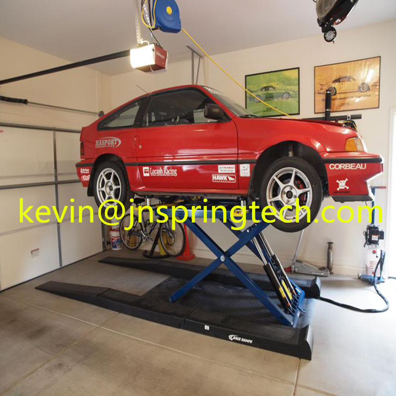 US $980 0 |hot sale best price high quality Portable scissor car lift use  for home garage car SUV maintance and parking with ce approve on