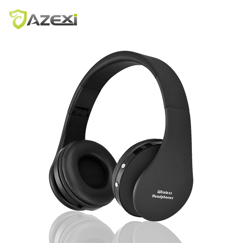 In Stock Foldable Bluetooth Stereo Headset Head Mounted Wireless Stereo  Portable Earphone Hands-free Headphone Super Bass kz lp5 bluetooth earphone apt x wireless headphone wired bass headset portable foldable headphones 1 2m cable