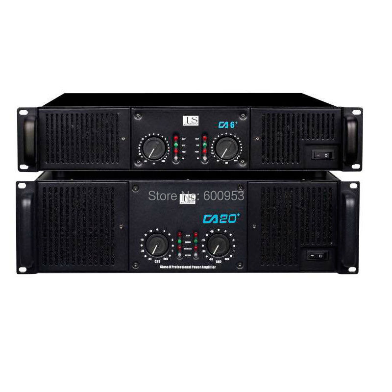Профессиональный CA6 CA20 высокое Мощность усилитель микрофоны звук AMP для сцены Динамик Номинальная Мощность 700 Вт 2200 Вт 2U 3U дизайн