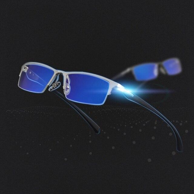 Анти Blue Ray Очки Компьютерные Очки Очки Магния и Алюминия Очки Рамка Игровые Очки bj268