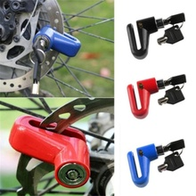 2pcs Disc Bike Lock Bicycle Rotor Motorcycle Anti-theft Scooter Disk Brake  BB55 motorcycle scooter brake disc disk rotor 260mm with gasket make it 3 hole 70mm hole to hole for yamaha scooter cygnus modify