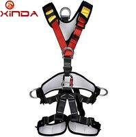 XINDA профессиональные скалолазание высотные полное тело ремня безопасности жгуты анти падение защитный Шестерни