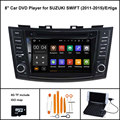 Android 5.1 Quad Core DVD Player DO CARRO para SUZUKI Swift 2011-2015 STEREO CAR 1024X600 HD WI-FI/3G + DSP + RDS + 16 GB flash