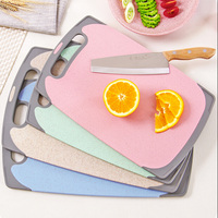Lovely Candy Color Mildew Prevent Chopping Block Rectangle Chopping Board Cutting Board Free Shipping