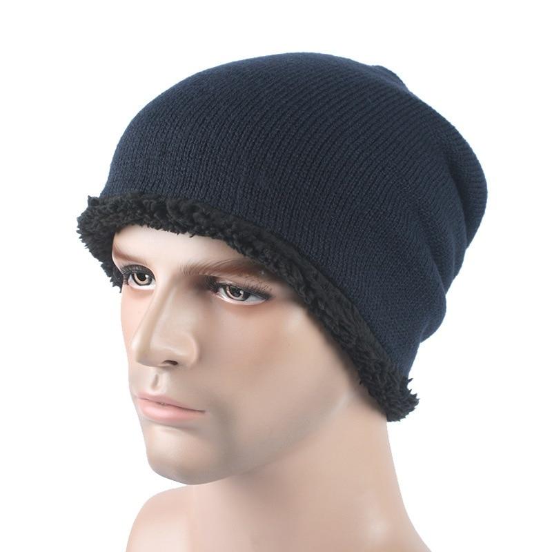 2016 Brand Beanies Knitted Warm Hat Skullies Bonnet Winter Hats For Men Women Beanie Fur Baggy Wool Caps S11 [cosplacool]knitted letter skullies bonnet winter fleece beanies hat for men women hats warm baggy