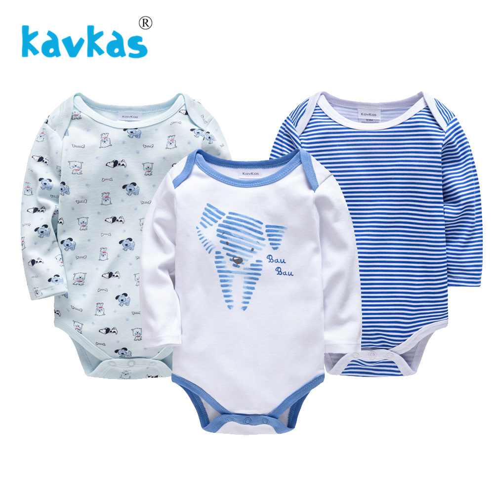 Kavkas Baby   Rompers   Girl Newborn Jumpsuit Boy Set Winter Long Sleeve 2019 Cartoon Baby Unisex Jumpsuit