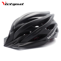 VICTGOAL Bike Helmet Light Sun Visor Men Women Mountain Road Bicycle Helmet MTB Ultralight Led Night