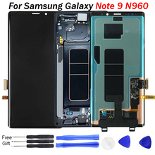 Original Super AMOLED LCD Display For Samsung Galaxy Note 9 Note9 N960 N960F N960D LCD Touch Screen Digitizer Assembly free tool free shipping original new lcd screen touch screen lcd digitizer assembly for 7inch samsung galaxy tab p3100