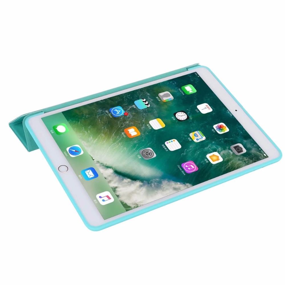 DHL/EMS Tri-Fold Ultra Slim TPU Silicon Back Folio Stand Holder PU Leather Case Cover For Apple Ipad 2017 New Pro 10.5Tablet dhl ems new for sch neider nsc 250s 3250n