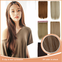 Hair, resistance hairpiece heat extension synthetic head natural full clip in