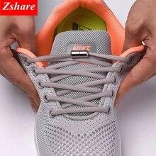 1 пара шнурков без галстука, круглые эластичные шнурки для обуви для детей и взрослых, шнурки для кроссовок, быстросохнущие шнурки, 21 цвет, шнурки