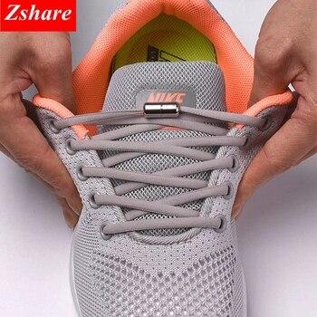1 paire sans lacets de cravate lacets de chaussures élastiques ronds pour enfants et adultes baskets lacet lacets paresseux rapide 21 chaussures de couleur