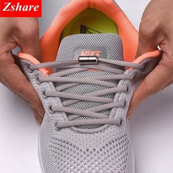 1 para sznurówki których nie trzeba wiązać okrągłe elastyczne buty sznurowadła dla dzieci i trampki dla dorosłych sznurowadła szybkie leniwe sznurowadła 21 kolorów sznurowadła tanie i dobre opinie SMATLELF CN (pochodzenie) Stałe Elastic Locking Shoelaces NYLON 19 colors about105cm