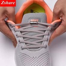 1 para sznurówki których nie trzeba wiązać okrągłe elastyczne buty sznurowadła dla dzieci i trampki dla dorosłych sznurowadła szybkie leniwe sznurowadła 21 kolorów sznurowadła tanie tanio SMATLELF Stałe Elastic Locking Shoelaces NYLON 19 colors about105cm