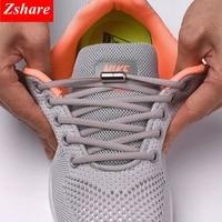 Cordones elásticos para zapatos redondos, cordones redondos para zapatillas de niños y adultos, 21 colores disponible, con hebilla de ajuste, 1 par