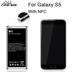 PINZHENG EB-BG900BBE Battery For Samsung Galaxy S5 Battery G900 G900S G900I G900F G900H With NFC Replacement Batteries